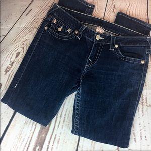 True Religion Becky Disco Fever Skinny Jeans 31